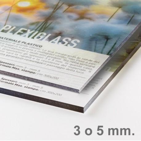 Plexiglas® (Metacrilato) transparente 3-10 mm