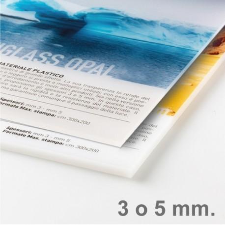 Plexiglass opalino 3/5 mm - (Tamaño máximo imprimible en una pieza única: 290x150 cm)