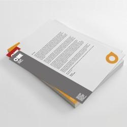 Hojas sueltas sin encuadernación - papel