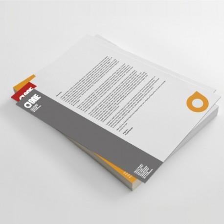 Hojas sueltas sin encuadernación - papel offset 90 gr.