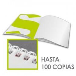 Revistas espiral - cubierta 300gr -