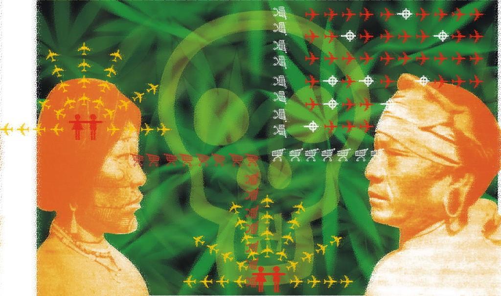 HIJOS DE LA TIERRA mapuche