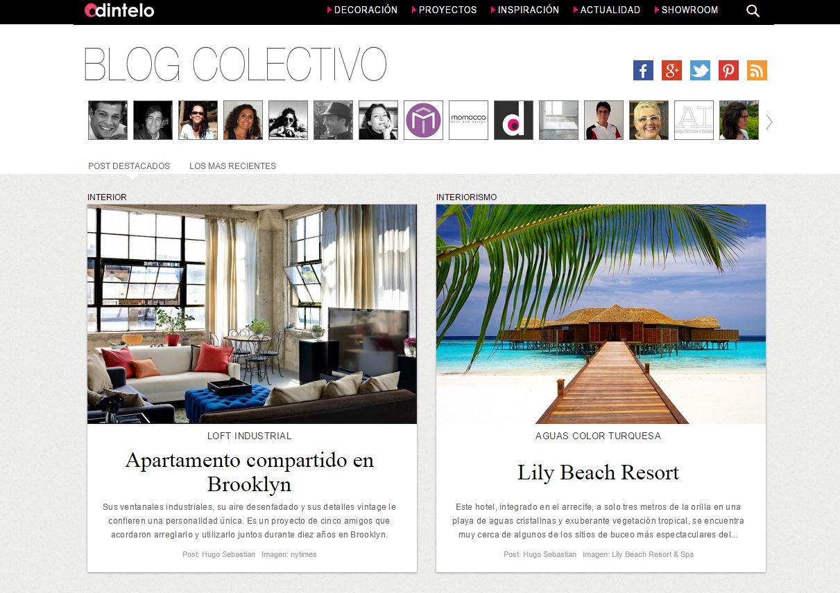 Los 10 Mejores Sitios De Decoraci N El Blog De La Imprenta  ~ Webs De Decoraciã³n De Interiores