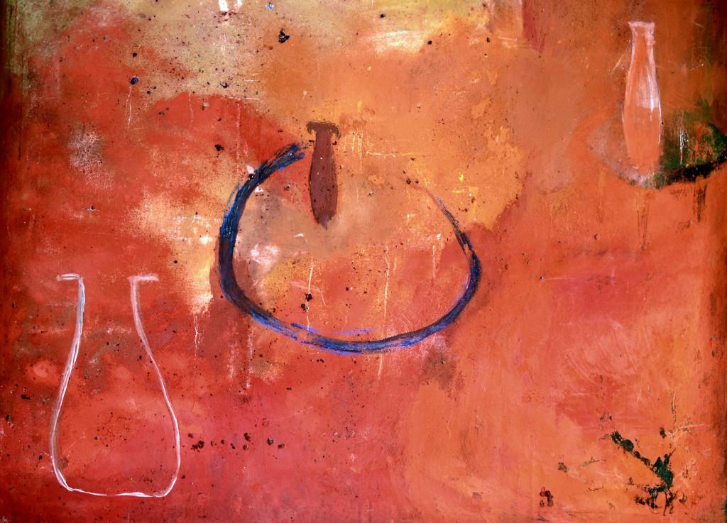 Joseba.Garcia.Plazuelo.Pintura.Lienzo.140x120cm.acrilico.pigmentos.1988