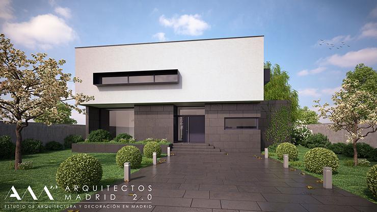 Hablando de arquitectura con arquitectos madrid 2 0 for Casas modernas recorrido virtual