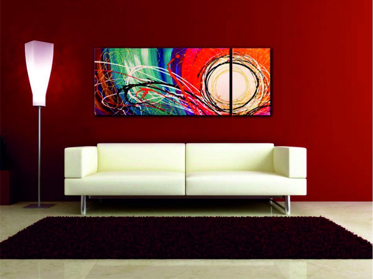 #7D0301 Si queréis podéis colgar los cuadros en cualquier habitación no hay  1200x900 píxeis em Cuadros Modernos Para Sala De Estar