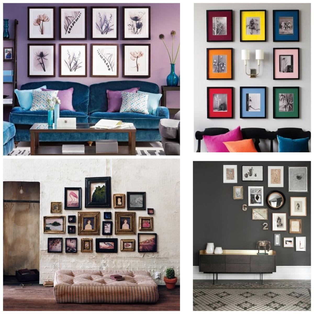 Cómo decorar tu casa con cuadros y telas?