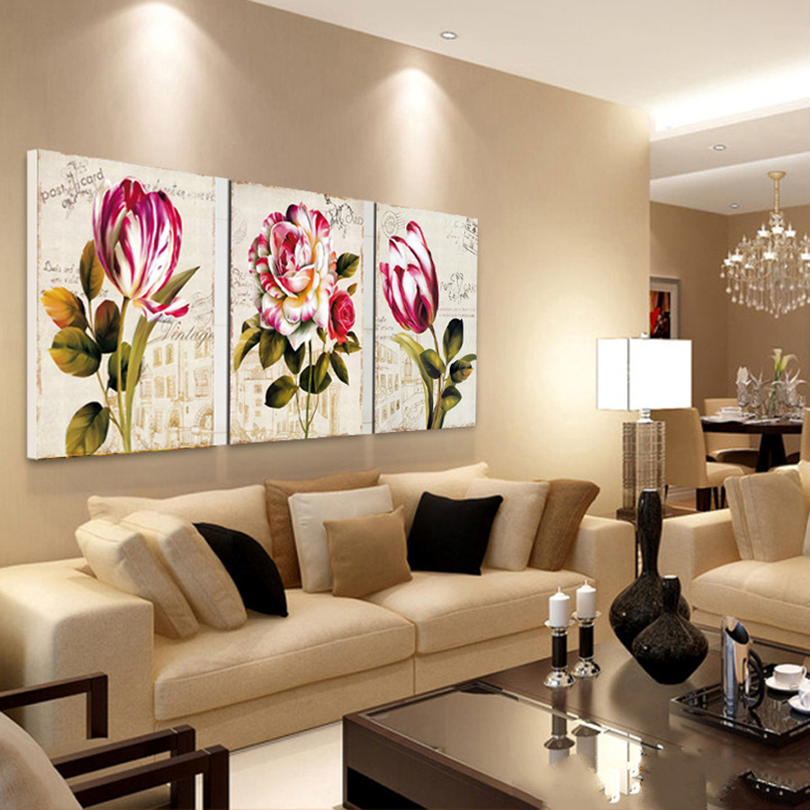 C mo decorar tu casa con cuadros y telas for Muebles decorativos para sala