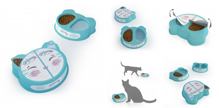A' Design - Meow - The Cat Nutrition for Stray Cats Cat Nutrition by Bahar Bostancı & Evrim Uvacin Isik