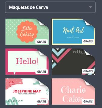 Cmo hacer tarjetas de visita con Canva El blog de la Imprenta
