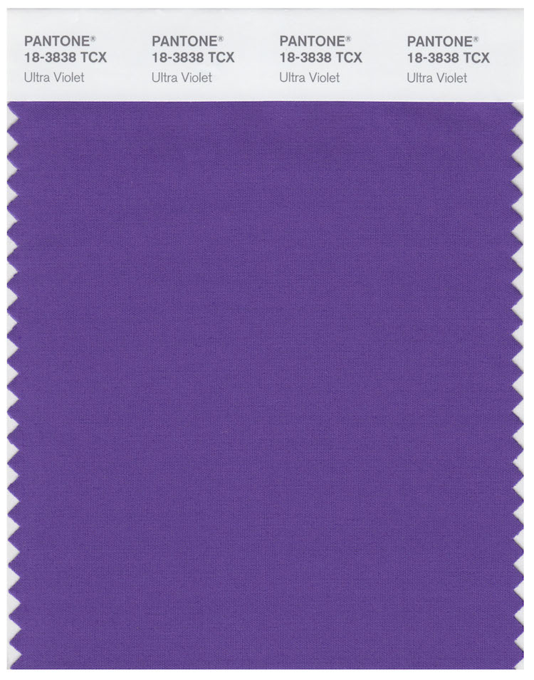 Pantone Ultra Violet color del año 2018