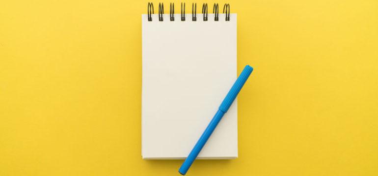 bloc de notas personalizados