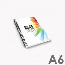 Bloc de notas con espiral A4
