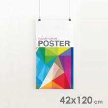 Carteles formato 42 x 120 cm