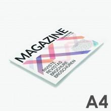 Revistas grapadas A4 horizontal (29,7 x 21 cm)