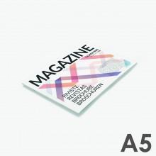 Revistas grapadas A5 horizontal (21 x 14,8 cm)