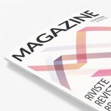Revistas con encuadernación grapada