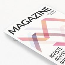 Revistas con encuadernación grapa omega