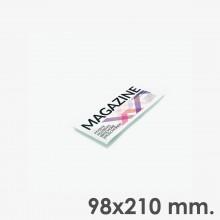 Revistas grapas horizontal 21 x 9,8 cm