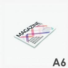 Revistas grapadas A6 horizontal (14,8 x 10,5 cm)