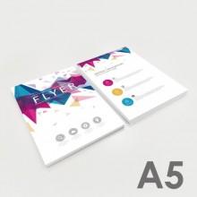 Flyer A5 (14,8 x 21 cm)