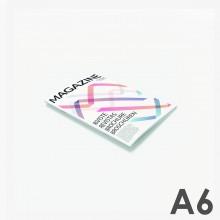 Revistas grapadas A6 (10,5 x 14,8 cm)