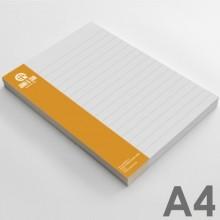 Bloc de notas A4 (21 x 29,7 cm)
