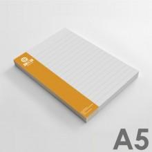 Bloc de notas A5 (14,8 x 21 cm)