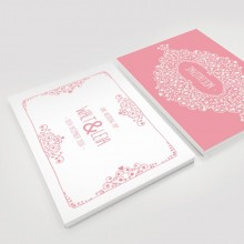 Invitaciones y postales en papel de 300 gr