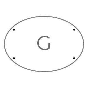 placas 43x30 PLACA G Plexiglass transparente 5 mm