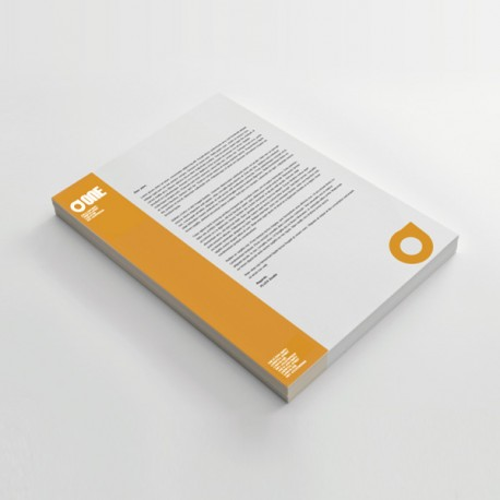 Carta intestata - fogli lettera - carta usomano 80gr
