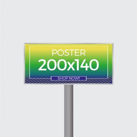 Manifesti formato 2x1,4 m