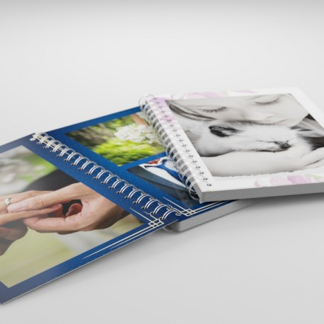 copertina 300 gr. - pagine 170 gr. - spirale