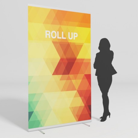 Roll up 120x200 cm.