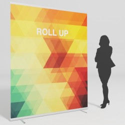 Roll up HQ Lux 150x200 cm.