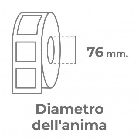 Adesivi in bobina mezzotaglio sagomato