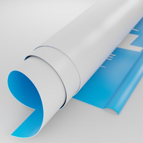 Striscione PVC con asola