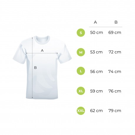 T-shirt deluxe uomo