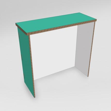 Desk in cartone - retro