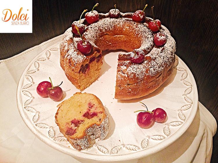 Torta-Ciliegie-Senza-Burro-dolci-senza-burro 2