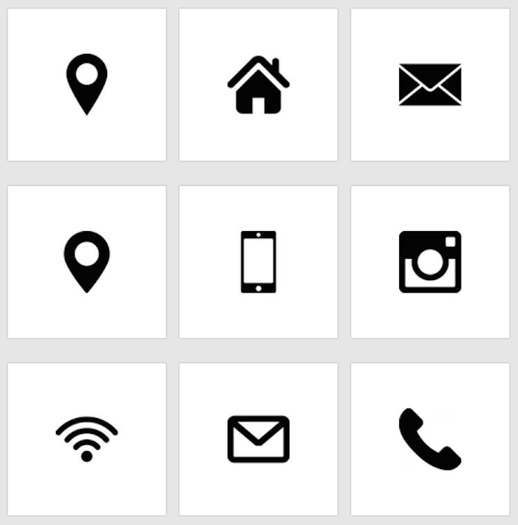 icone gratuite ecco i migliori siti dove trovarle. Black Bedroom Furniture Sets. Home Design Ideas