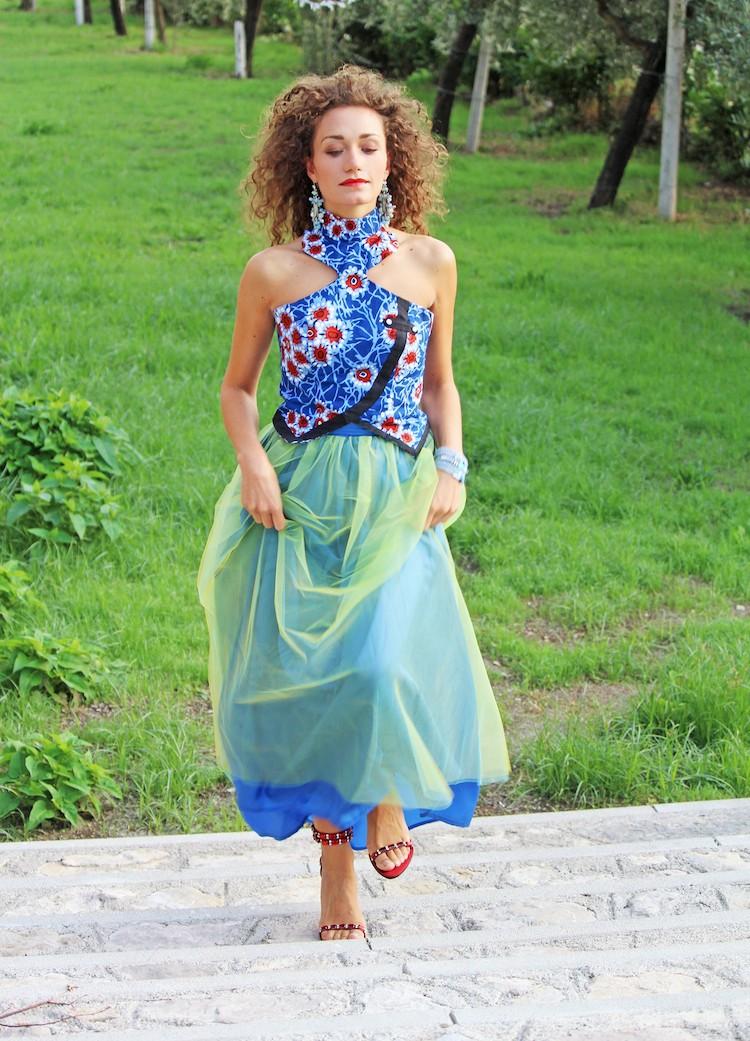 Chiara Angiolino intervista outfit