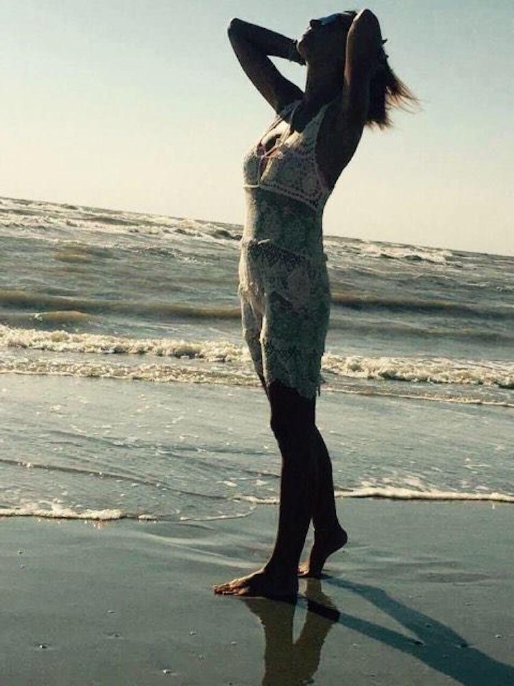 Rossella Santini scatto in spiaggia