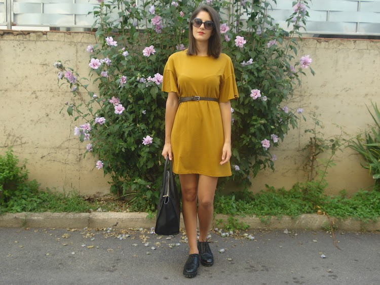 Mariateresa Scotti blogger outfit senape