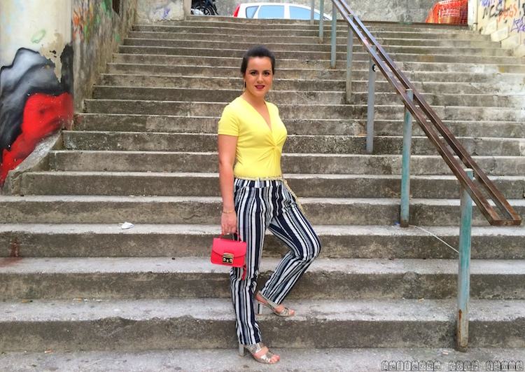 look Marzia Amaranto fashion blogger