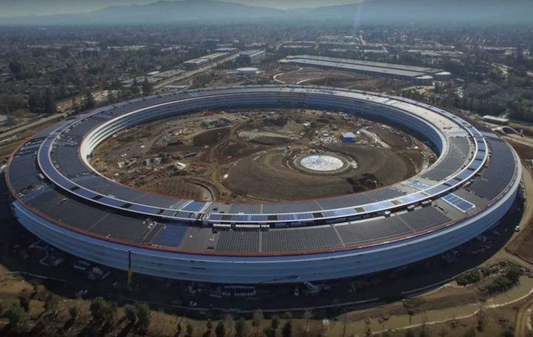 Campus 2, le nouveau QG d'Apple à Cupertino est presque prêt - Stampaprint Blog FR
