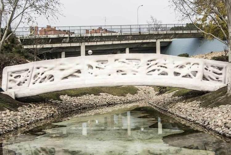 Alcobendas (Espagne) : le premier pont piéton construit grâce à l'impression 3D - Stampaprint Blog FR