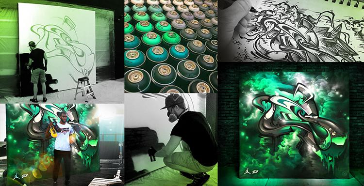L'art de Mikael Brandrup, l'ancien tagueur recherché par firmes et galeries - Stampaprint Blog FR