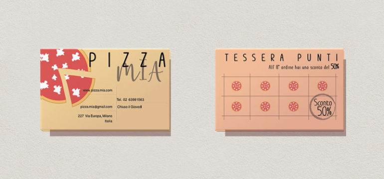 come fare tessera punti pizzeria