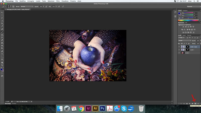 14 cambiare colore photoshop